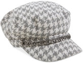 August Hats Shimmer and Shine Houndstooth Conductor Cap