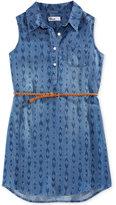 Epic Threads Geo-Print Shirt Dress, Big Girls (7-16), Created for Macy's