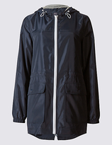 M&S Collection Pack Away Parka with StormwearTM