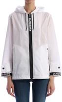 Burberry Zip Up Rain Coat