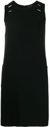 Ermanno Scervino Sleeveless Shift Mini Dress