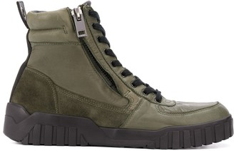 Diesel Chunky Boot Trainers