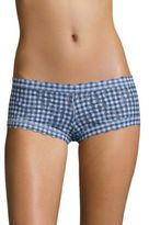 Hanky Panky Rolled Check Please Lace Boyshorts