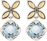 John Hardy Kawung Blue Topaz Drop Earrings
