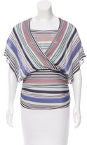 Missoni Ruched Striped Top