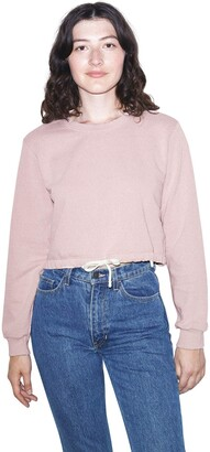 American Apparel Women's French Terry Cord Sweatshirt