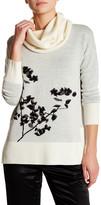 Diane von Furstenberg Ahiga Jacquard Wool Blend Sweater