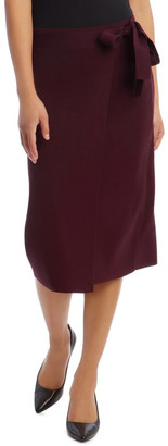Basque Tie Side Milano Skirt