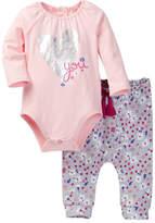Jessica Simpson Bodysuit & Jogger Set (Baby Girls)