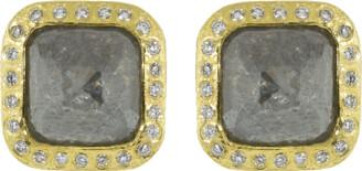 Todd Reed Fancy Diamond Stud Earrings