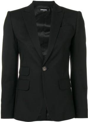 DSQUARED2 Classic Fitted Blazer