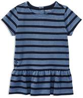 Ralph Lauren Girls' Ruffled Striped Top - Baby