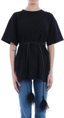 Valentino T-shirt Feather Black