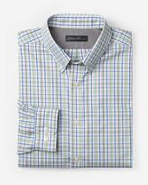 Eddie Bauer Men's Wrinkle-Free Slim Fit Pinpoint Oxford Shirt - Long-Sleeve Seasonal Pattern