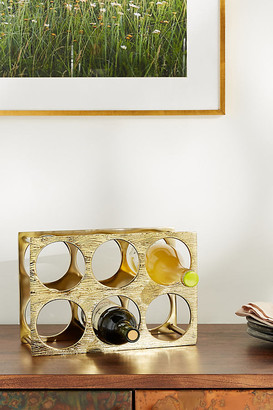 Anthropologie Zadie Wine Rack By in Brown Size ALL