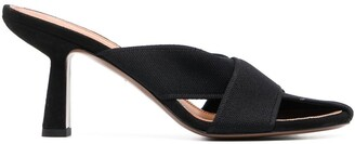 Neous Ogma cross-strap knit sandals