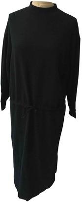 Base Range Black Cotton Dress for Women