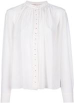 Vanessa Bruno pleated silk shirt