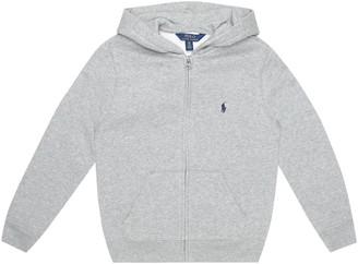Polo Ralph Lauren Kids Cotton-blend jersey hoodie
