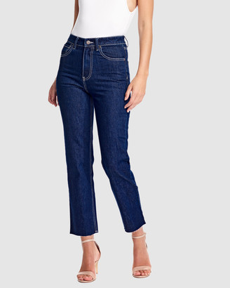 RES Denim Women's Blue Jeans - True Straight Jean - Size One Size, 26 at The Iconic