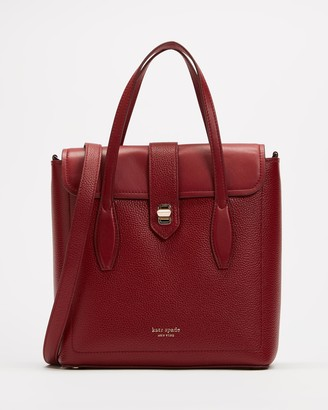Kate Spade Women's Red Leather bags - Essential Medium North South Tote - Size One Size at The Iconic