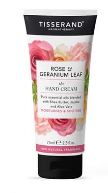 Tisserand Aromatherapy U.K. Aromatherapy Rose & Geranium The Hand Cream 75ml