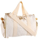 Le Sport Sac Petite Gypsy with Bow (Manoush Eyelet) - Bags and Luggage