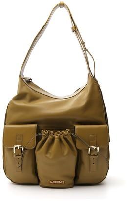 Jacquemus Front Pockets Shoulder Bag