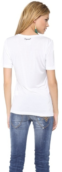 DSquared Dsquared2 Printed Tee