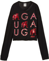 PINK University Of Georgia Long Sleeve Campus Cutout Tee