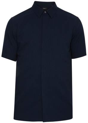 Theory Irving Short-Sleeve Button Down Shirt