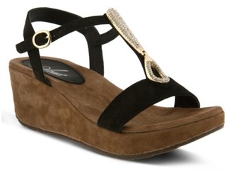 Azura Lawna Wedge Sandal