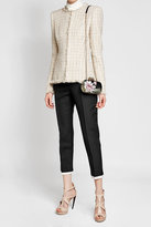 Alexander McQueen Tweed Jacket with Cotton, Wool and Silk