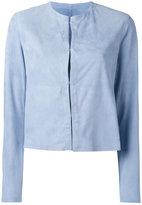 Drome collarless jacket