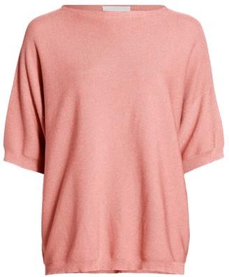 Fabiana Filippi Lurex Tunic Sweater