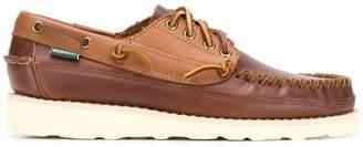 Sebago lace up boat shoes