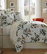 Southern Living Jardin Botanical & Bird-Print Satin Comforter Mini Set