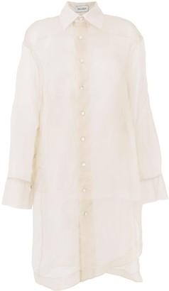 Balossa White Shirt long Hurell shirt