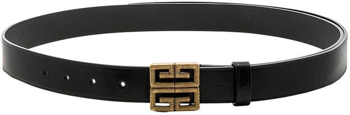 Givenchy 4G Engraved Belt