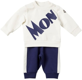 Moncler Logo Cotton Sweatshirt & Sweatpants