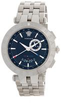 Versace Men&s V-Race GMT Bracelet Watch