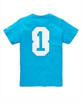 Jacamo Goater Prostate Cancer Charity T-Shirt Blue Long