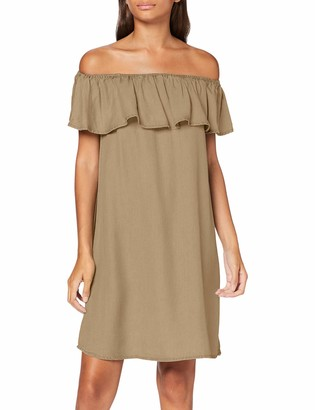 Vero Moda Women's VMMIA Flounce Summer Dress GA Color