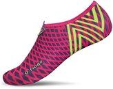 L-RUN Men Women's Grey Walk Shoes Slip-on Aqua Water Shoes Breathable