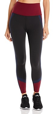 Beyond Yoga True Color-Block High-Rise Leggings