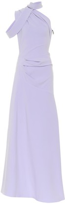 Maticevski Inclination stretch-crepe gown