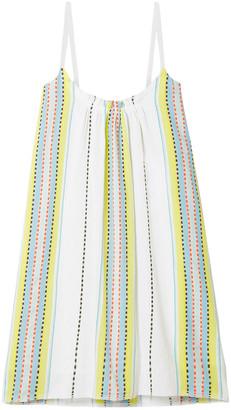 Lemlem Welela Striped Cotton-blend Mini Dress