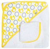 JJ Cole Hooded Towel - Yellow Ducks