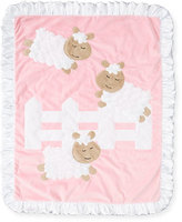 Boogie Baby Dreaming of Ewe Plush Baby Blanket