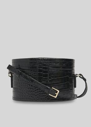 Novah Shiny Croc Tiny Box Bag